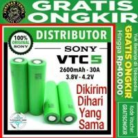 Sony VTC5 18650 30A / vtc 5 2600mAh 3.7V (* Not lg awt or mxjo 3000