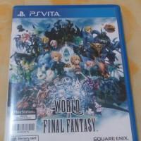 Jual Ps vita world of final fantasy Murah