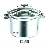 C-50 Panci Presto 75 Liter / Commercial Pressure Cooker