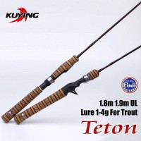 Joran Pancing Kuying Teton TTC632UL 1.9 Casting 1-4 Lb Fuji Ring