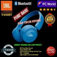 JBL T450BT / T 450BT / Pure Bass Sound Bluetooth On-Ear Headphones