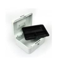 cashbox 8 inch krisbow / cash box peyimpanan uang / brankas mini