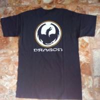 Jual Baju Kaos | T Shirt Dragon tag Fruit of the Loom Hitam Original Murah