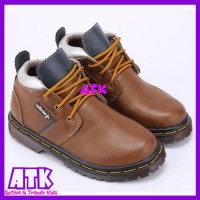Jual Sepatu anak laki-laki boots cowok docmart keren sekolah gaul aktif boy Murah