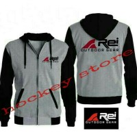 jaket zipper hoodie outdoor rei adventure
