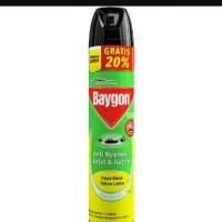 Baygon aerosol 600ml+120ml