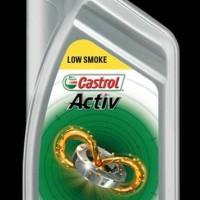 OLI SAMPING CASTROL ACTIV 2T LOW SMOKE 700 ML