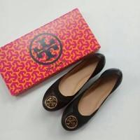 sepatu Tory Burch Caroline 2 Ballet Black shoes