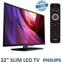 "TERMURAH..!! NEW PHILIPS 32"" LED HD TV (MODEL 32PHA4100) GARANSI RESMI"