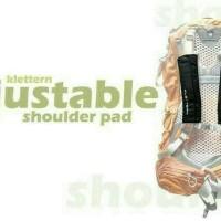 shoulder pad klettern adjustable bag busa pada tas carrier