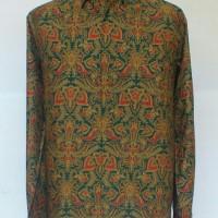 Kemeja Batik Pria Modern Lengan Panjang/Kemeja Batik Kombinasi