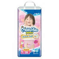 MAMY POKO PANTS EXTRA SOFT SIZE L ISI 28 GIRL