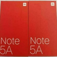 HP XIOMI NOTE 5A (xiomi mi 5A) ram 2gb /16 GOLD-ROSE-GREY