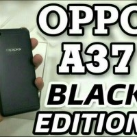 Hp oppo A37 Ram 2 /16 GB - Black LIMITED Edition - Hitam