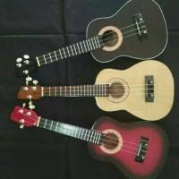 Jual Gitar Ukulele/Kentrung Senar 3 & 4 BERKUALITAS TERMURAH Murah