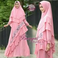 MALIKA 12 set hijab syar'i by bungas/jubah/gamis muslimah/busana trend
