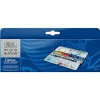 Jual Cotman Water Colours Metal Sketchers Box 24 Half Pans Winsor & Newton Murah
