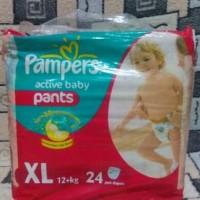 Jual Pampers Active Baby Pants Xl 24 pcs Murah