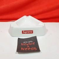 Supreme Ceramic Ashtray 15AW / Asbak Supreme Perfect Replica 1:1