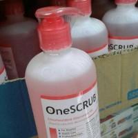 one scrub 500ml cuci tangan operasi