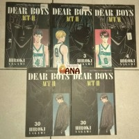 Komik Cabutan Dear Boys Act II - Hiroki Yagami
