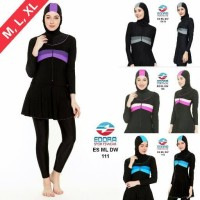 Jual Baju renang muslim dewasa size M,L,XL (ES ML DW) Murah
