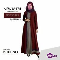 Gamis new mutif - fashion wanita - pakaian wanita - dress / gamis