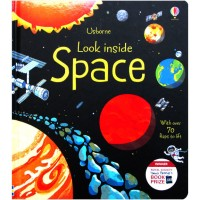 Usborne Look Inside Space With Over 70 Flaps to lift