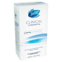 Secret clinical strength Clear Gel Powder protection Deodorant