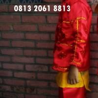 Palembang PAUD/TK Pria Baju Adat Karnaval Kostum Tari Anak Tradisional