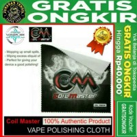 Authentic Coil Master Vape Cloth Polishing (* Kain Poles Terbaik RDA