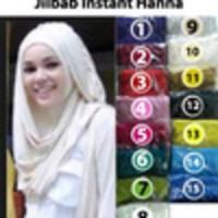 Jual JUAL Jilbab Instant Hana HS-0014 TERBARU MURAH GARANSI SATUAN/ GROSIR Murah