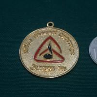 Medali kenang2an import Jambore Nasional 1996 Jamnas 96 berlapis emas