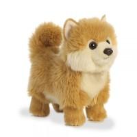 Boneka Hewan Anjing Pomerian Coklat (Pom Dog Brown)