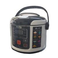 Mito R1 8in1 Digital Rice Cooker [1 L] [BLACK/PINK/COKL Limited