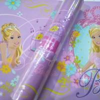 wallpaper border motif barbie