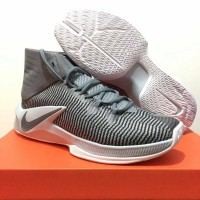 Sepatu Basket Kuliahsepatu basket nike zoom clearout high grey