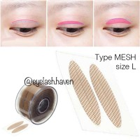 Invisible Eyelid Tape, Type MESH size L. Roll Scot Mata 300 pasang.