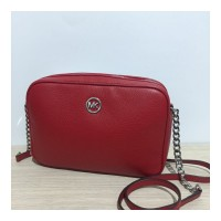 TAS MICHAEL KORS ORIGINAL - MK FULTON LARGE CROSSBODY RED