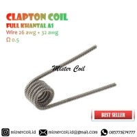 [ Clapton Coil ] Khantal Wire A1 | Not Alien Fused Twisted Nichrome
