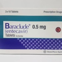 Baraclude 0 5 mg tablet blister 10 s