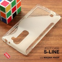 CASE CASING HP LG MAGNA H502F SOFT JELLY GEL SILIKON SILIKON SOFT