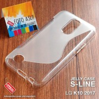 CASE CASING HP SOFT JELLY LG K10 2017 GEL SILIKON SILIKON SOFT COVER