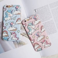 PM32 UNICORN PASTEL CASE/CASING HP IPHONE 5/5S/SE/6/6S/6+/7/7+