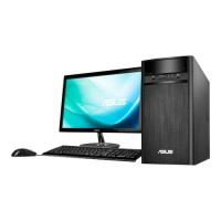 PC Desktop ASUS K31CD Core i5-7400, DDR4 4GB, HD Sata 1TB, LED 18.5""