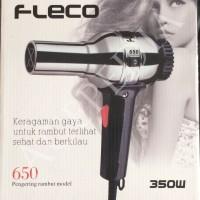 Hair Dryer 350W FAST DRYER FLECO/ Pengering Rambut/ Quick HairDryer