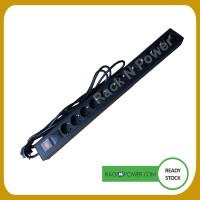 PDU 12 outlets 16A with Surge Protection