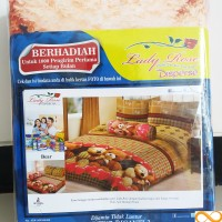 Sprei Lady Rose Disperse Bear B2 180X200