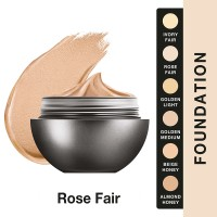 Lakme AbsReinvent Mattreal Skin Natural Mousse Foundation Rose Fair