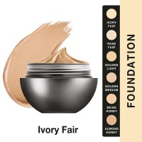 Lakme AbsReinvent Mattreal Skin Natural Mousse Foundation Ivory Fair-